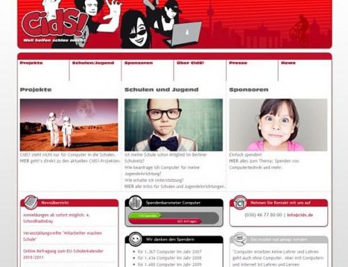 Cids.de – Computer in die Schulen
