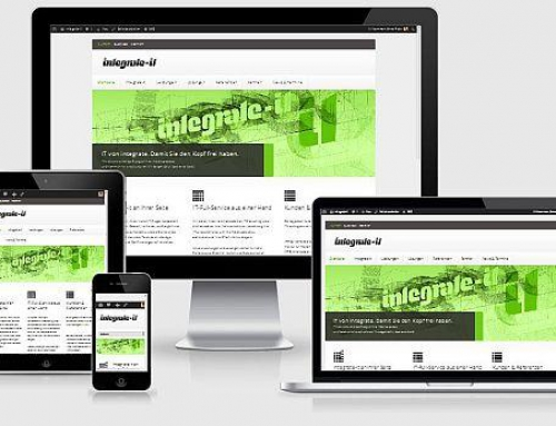 Responsive Website für integrate-it